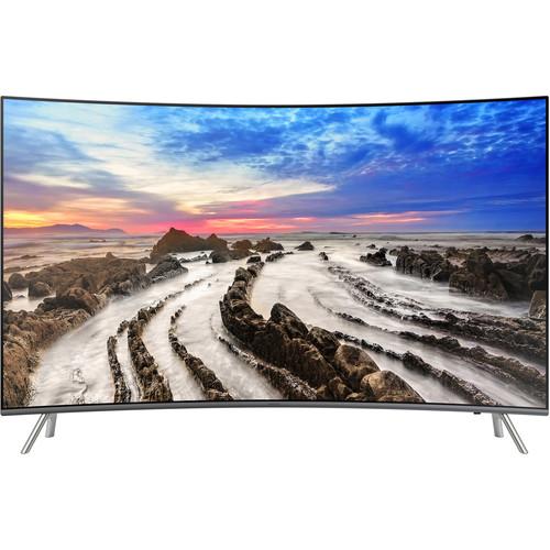 "Samsung MU8500-Series 55""-Class HDR UHD Smart Curved LED TV"