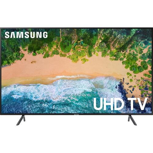 "Samsung NU7100 Series 55""-Class HDR UHD Smart LED TV"