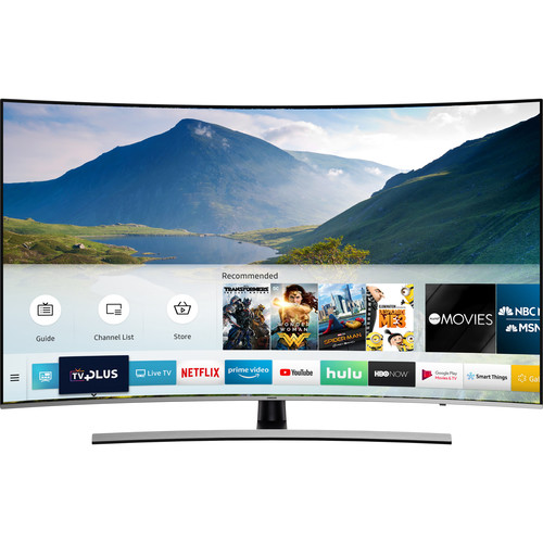 """Samsung NU8500 55"""" Class HDR UHD Smart Curved LED TV"""