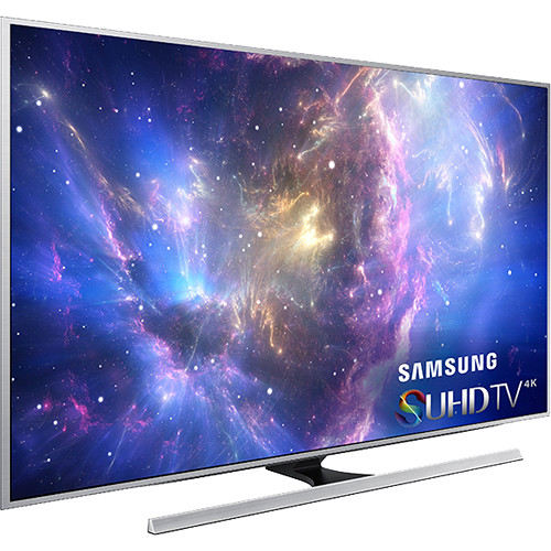 """Samsung JS8500 Series 65""""-Class 4K SUHD UN65JS8500FXZA B&H"""