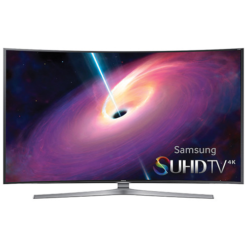"Samsung JS9000 Series 65""-Class 4K SUHD Smart 3D Curved LED TV"
