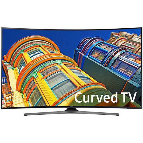 "Samsung KU6500-Series 65""-Class UHD Smart Curved LED TV"