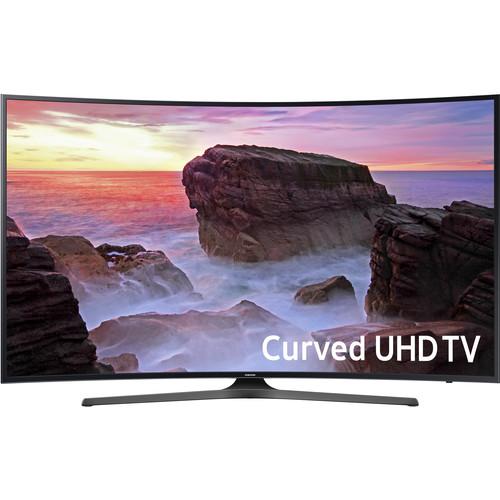 "Samsung MU6500-Series 65""-Class HDR UHD Smart Curved LED TV"