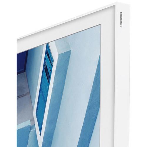 "Samsung Customizable Frame for The Frame TV (55"", White Metal)"