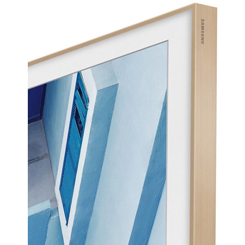 "Samsung Customizable Frame for The Frame TV (65"", Beige Wood)"