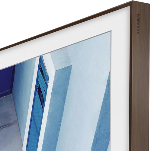 """Samsung Customizable Frame for the 49"""" Frame TV (Brown)"""