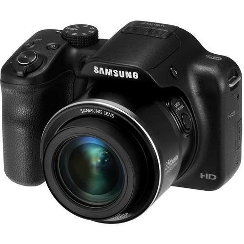 Samsung WB1100F Smart Digital Camera Basic Kit (Black)