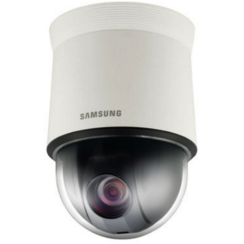 Samsung WiseNet HD+ Series HCP-6320 2MP 32x Indoor Analog PTZ Dome Camera with 4.44 to 142.6mm Lens (Ivory)
