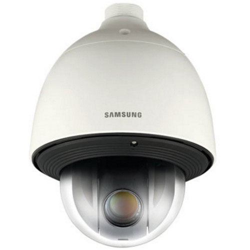 Samsung WiseNet HD+ Series HCP-6320H 2MP 32x Outdoor Analog PTZ Dome Camera with 4.44 to 142.6mm Lens (Ivory)