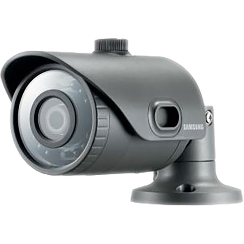 Hanwha Techwin WiseNet Lite 1080p HD Indoor/Outdoor Network Bullet Camera with 3.6mm Lens (Dark Gray)