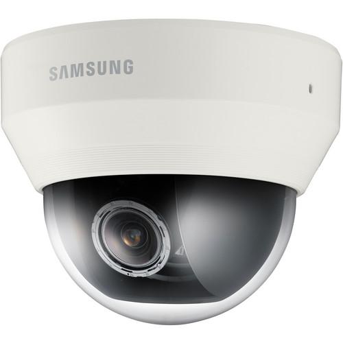 Hanwha Techwin WiseNetIII SND-6083 2Mp Full HD Color Indoor Day & Night Network Dome Camera (Ivory)