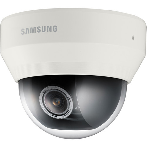 Samsung Techwin WiseNetIII SND-6083 2Mp Full HD Color Indoor Day & Night Network Dome Camera (Ivory)