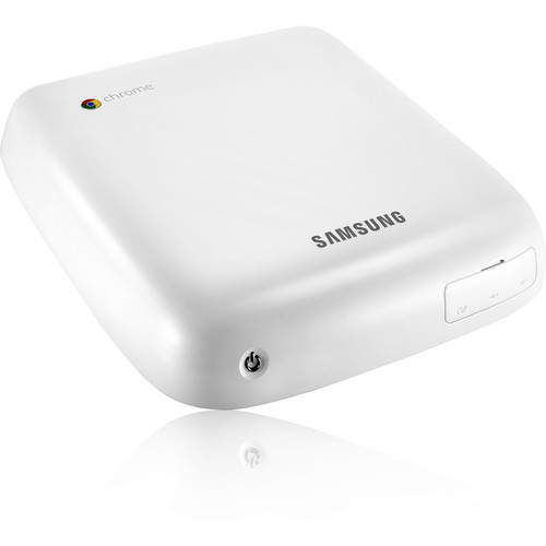 Samsung Series 3 Chromebox Desktop Computer (White)