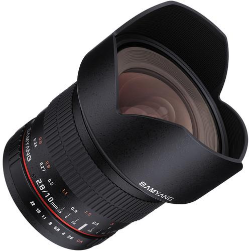 Samyang 10mm f/2.8 ED AS NCS CS Lens (Fujifilm X Mount)