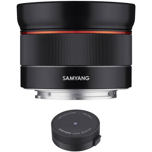 Samyang AF 24mm f/2.8 FE Lens with Lens Station Kit for Sony E