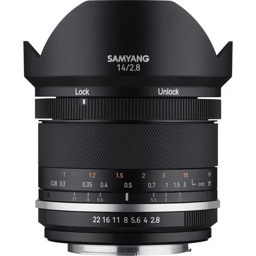 Samyang MF 14mm f/2.8 WS Mk2 Lens for FUJIFILM X
