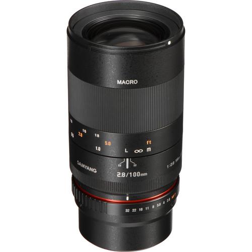 Samyang 100mm f/2.8 ED UMC Macro Lens for Micro Four Thirds