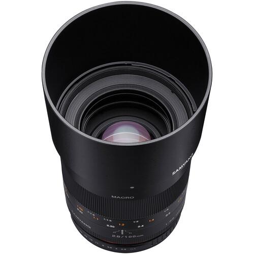 Samyang 100mm f/2.8 ED UMC Macro Lens for Samsung NX