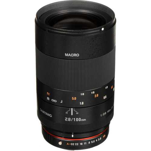 Samyang 100mm f/2.8 ED UMC Macro Lens for Pentax K