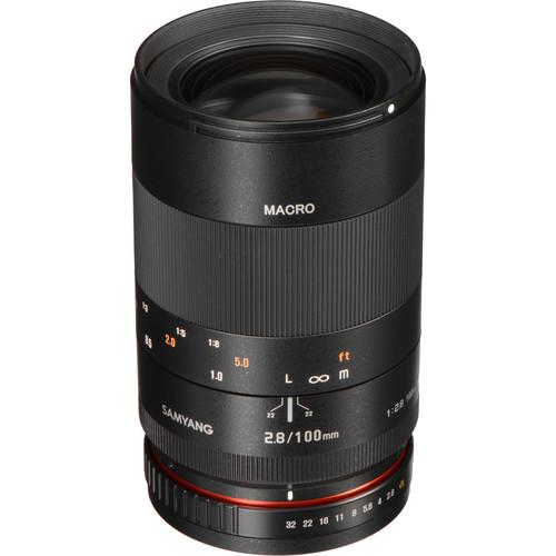 Samyang 100mm f/2.8 ED UMC Macro Lens for Sony A