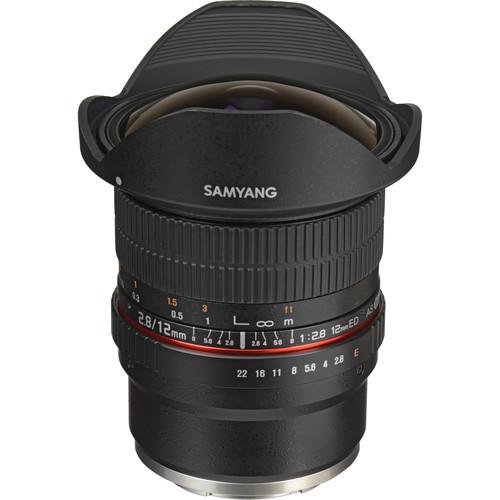 Samyang 12mm f/2.8 ED AS NCS Fisheye Lens for Sony E Mount