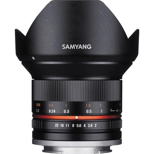 Samyang 12mm f/2.0 NCS CS Lens for Fujifilm X-Mount (Black)