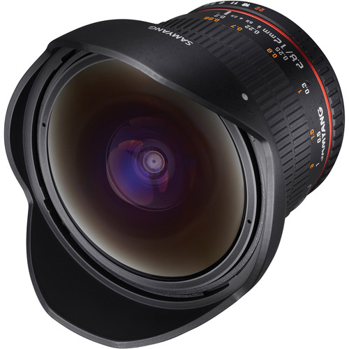 Samyang 12mm f/2.8 ED AS NCS Fisheye Lens for Sony A Mount