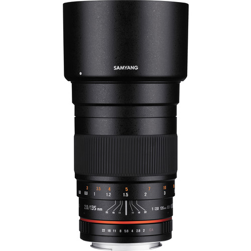 Samyang 135mm f/2.0 ED UMC Lens for Micro Four Thirds Mount