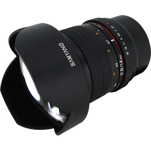 Samyang 14mm f/2.8 ED AS IF UMC Lens for Fujifilm X Mount