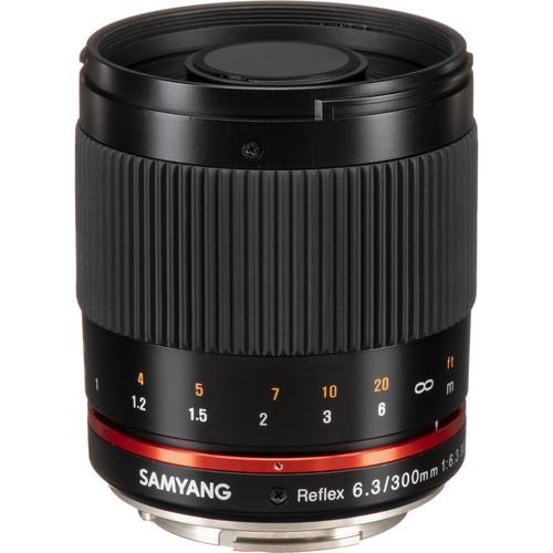 Samyang Reflex 300mm f/6.3 ED UMC CS Lens for Sony E Mount (Black)
