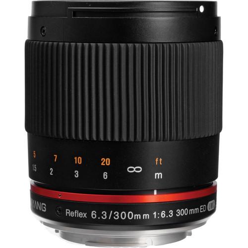 Samyang Reflex 300mm f/6.3 ED UMC CS Lens for Canon EF-M Mount (Black)