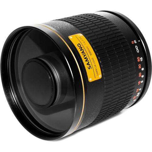 Samyang 500mm f/6.3 Mirror Lens (Black)