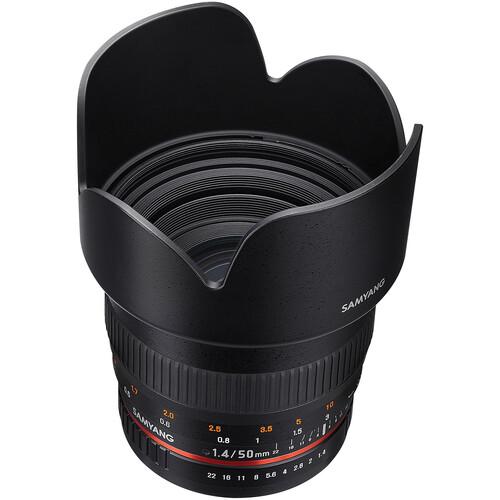 Samyang 50mm f/1.4 AS UMC Lens for Canon EF