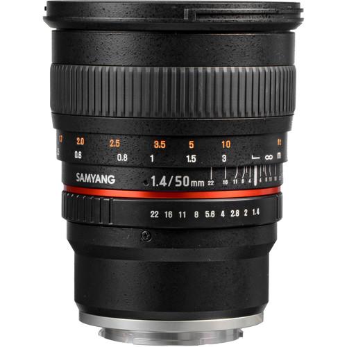 Samyang 50mm f/1.4 AS UMC Lens for Sony E