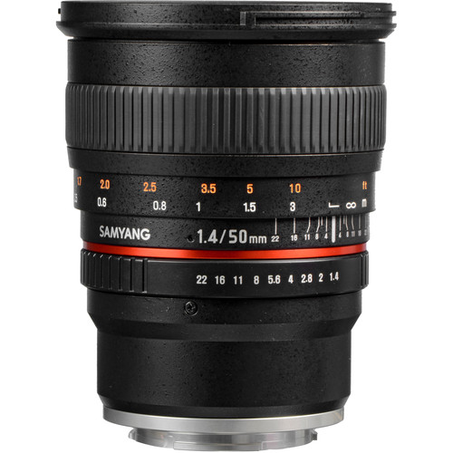 Samyang 50mm f/1.4 AS UMC Lens for Sony E