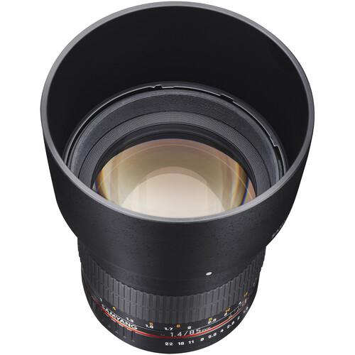 Samyang 85mm f/1.4 Aspherical IF Lens for Fujifilm X-Mount Cameras