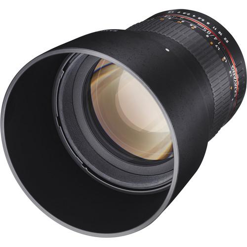 Samyang 85mm f/1.4 Aspherical IF Lens for Samsung NX