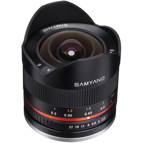 Samyang 8mm f/2.8 Fisheye II Lens for Sony E Mount