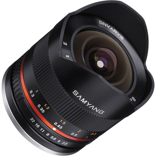 Samyang 8mm f/2.8 Fisheye II Lens for Samsung NX Mount