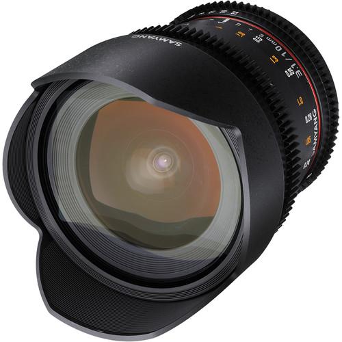 Samyang 10mm T3.1 VDSLR Lens with Sony Alpha Mount