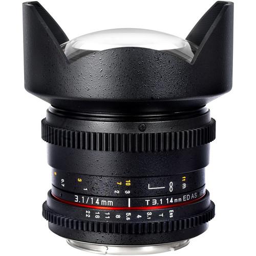 Samyang 14mm T3.1 Cine Lens for Sony E-Mount
