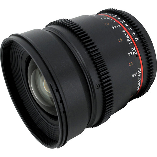 Samyang 16mm T2.2 Cine Lens for Nikon F