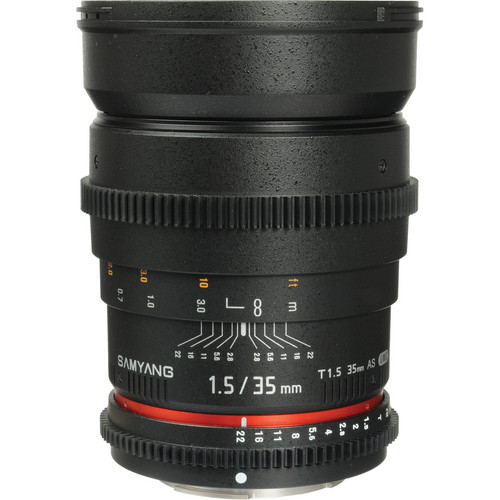 Samyang 35mm T1.5 Cine Lens for Sony E