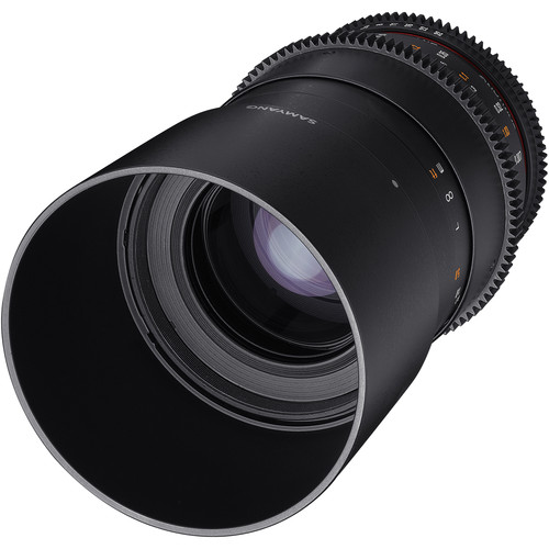 Samyang 100mm T3.1 VDSLRII Cine Lens for Micro Four Thirds Mount with Macro