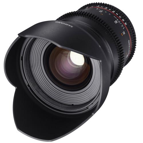 Samyang 24mm T1.5 VDSLRII Cine Lens for Micro Four Thirds Mount