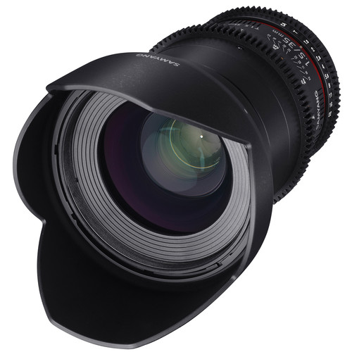 Samyang 35mm T1.5 VDSLRII Cine Lens for Micro Four Thirds Mount