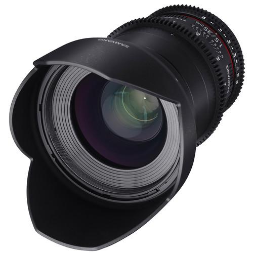 Samyang 35mm T1.5 VDSLRII Cine Lens for Sony Alpha Mount
