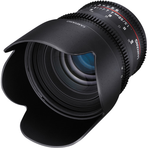 Samyang 50mm T1.5 VDSLR AS UMC Lens for Sony A Mount