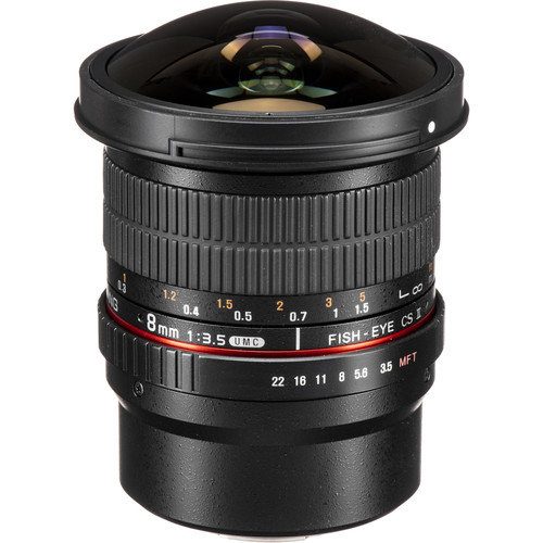 Samyang 8mm HD T3.8 HD Cine Lens for Micro Four Thirds Mount