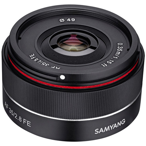 Af 35mm F/2.8 Fe Lens For Sony E by Samyang